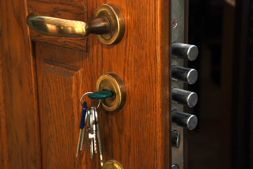 high security door lock